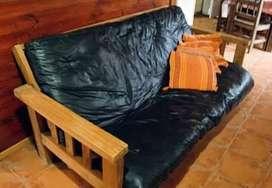 alquilo cabaña para 9 persona en buen estado con to equipado directv, parque y quincho para asado