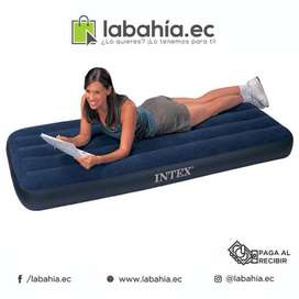Colchon Inflable Plaza y media marca intex resistente