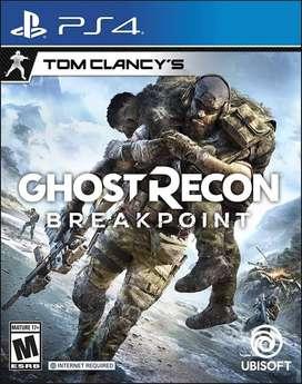 Tom Clancy's Ghost Recon Breakpoint Ps4 Nuevo Fisico Español Sellado