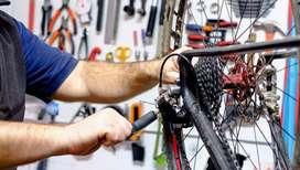 Técnico especializado en bicicletas gama alta