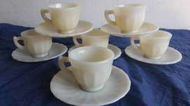 antiguo  juego de cafe rigopal retro