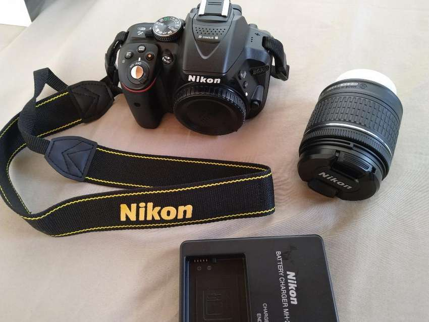 Camara Dslr Nikon D5300 0