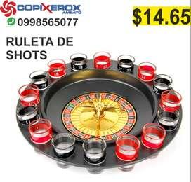 RULETA DE SHOTS