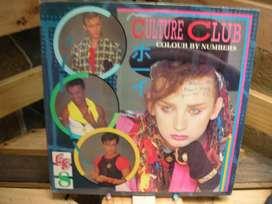 Long Play  Lps Discos Acetatos Pastas Vinilos Vinyl Culture Club Colour Numbers