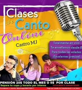 CLASES DE CANTO BARATOS SUR DE QUITO