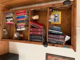 Vendo hermosa biblioteca de madera Roble