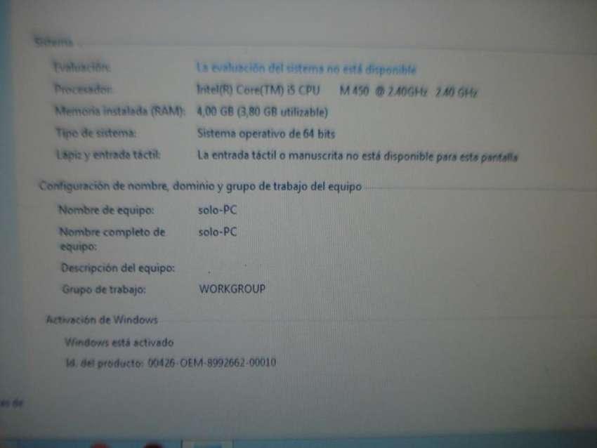 Notebook I5 Hp Pavilon Dv5 4gb Ram Funciona!! Pantalla Rota
