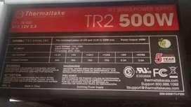 Fuente Thermaltake TR2 500 Watts Reales, Nueva Sin Uso
