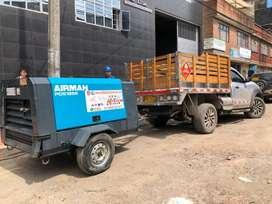 ALQUILER / VENTA de compresores diesel y plantas electrica