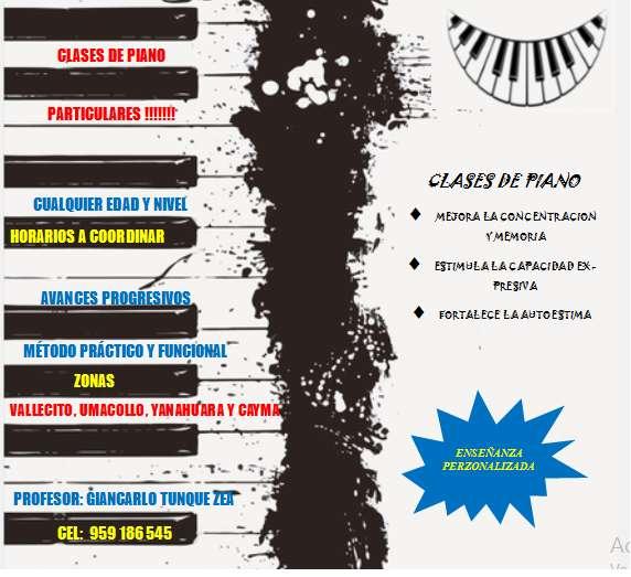 CLASES VIRTUALES DE PIANO 0