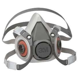 Mascara media cara 3 m + cartuchos 6001+filtros 2071