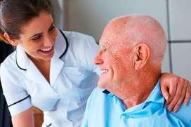 cuidado para adultos mayores y niños.