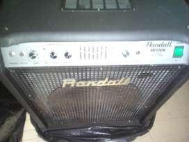 Amplificador Combo Bajo Randall RB100X