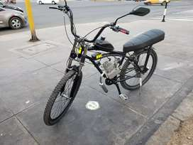 Moto bici nueva
