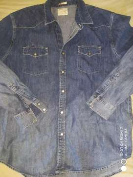 Camisas denim xl