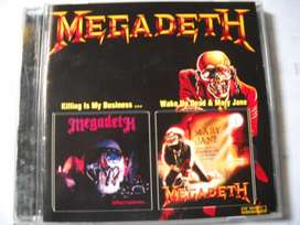 megadeth killing is my business / wake dead and mary jane cd nuevo