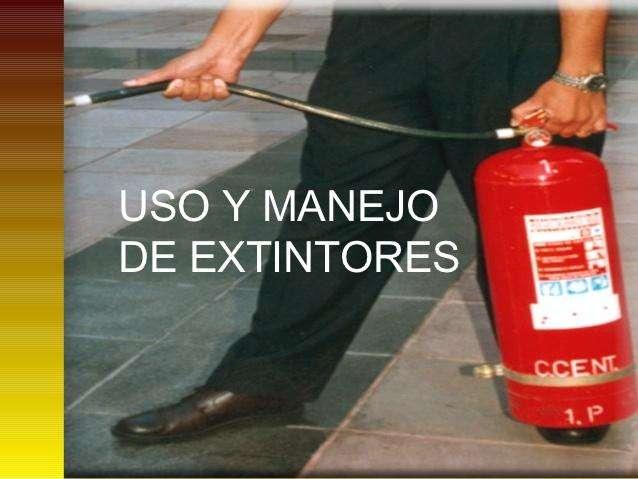 CURSO DE USO Y MANEJO DE EXTINTORES 0