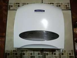 Dispensador papel jumbo baño