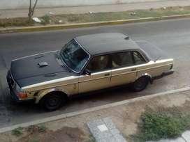 Auto volvo 240 gle año 1989, totalmente operativo y original