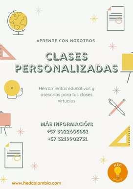 Clases herramientas educativas digitales