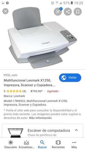 Impresora Scanner Y Copiadora Lexmark