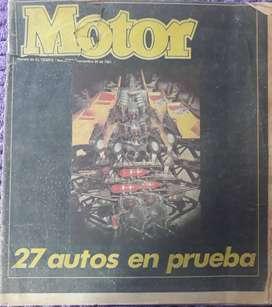 Revista Motor #1 + 89 ediciones