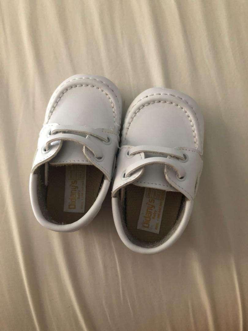 Zapatos cuero bebe 0
