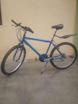 Bicicleta Mtb 26 Azul