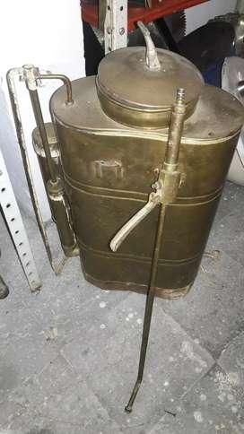 Se vende fumigadora en bronce antigua