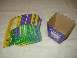 bandejitas de  carton MENDOZA x30u.