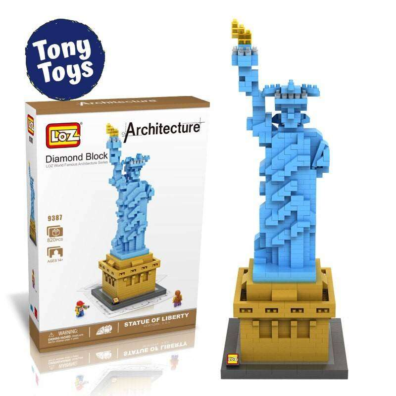 Estatua de la Libertad Diamond Blocks (820 pcs) 0