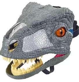 Máscara de Dinosaurio Velociraptor.
