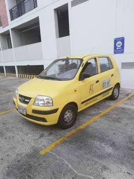 Taxi a gasolina único dueño modelo 2009