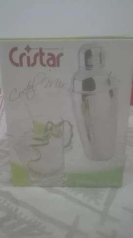 Kit Coctelera y 6vasos