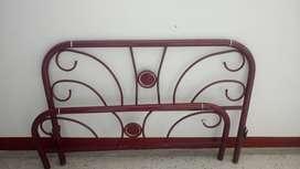 Aproveche gran oferta cama base con tablas y cama metalica con tablas y bisagras