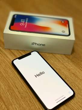 Iphone X de 256 Gb negro