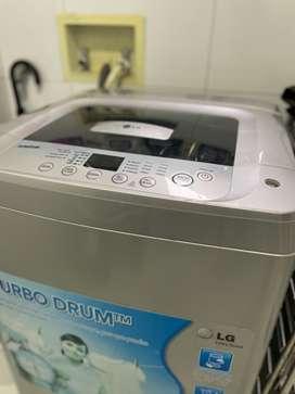 Lavadora LG fuzzy Logic