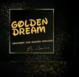 Golden Dream Fiesta Decoracion