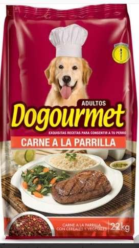 Dogourmet Carne a La Parrilla X 22kls