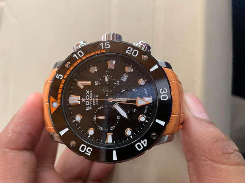 Vendo Expectacular Reloj EDOX 0