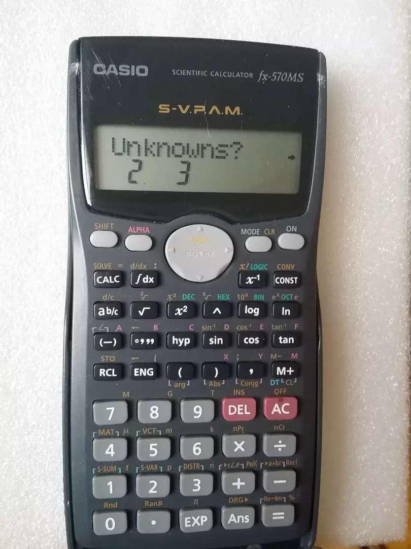 Calculadora cssio fx 570 ms  deriva integra ecuaciones polinomios complejos 0