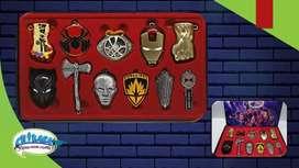Set de armas Los Vengadores Marvel.