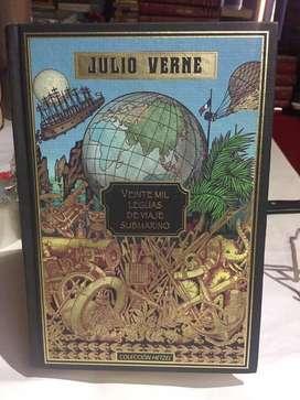 Veinte mil lenguas de viaje submarino, Julio Verne