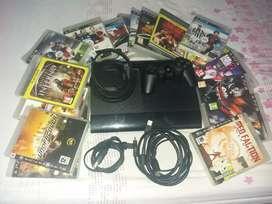 Playstation3 con 18 juegos