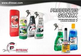 Productos Sonax Para Vehículos
