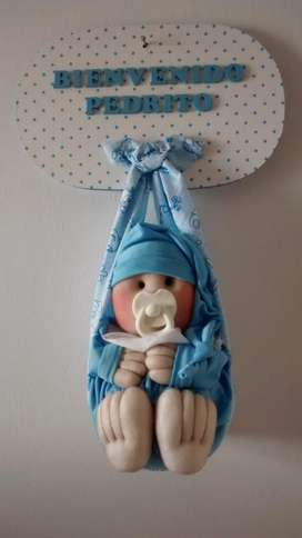 Cartelitos de Bienvenida para Bebé