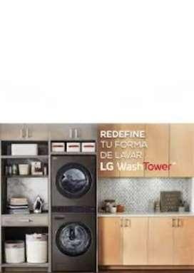 LG Colombia lavadoras Neveras calentadores secadoras torres reparaciones