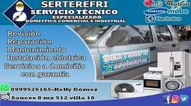Servicio y Mantenimiento de Linea Blanca y Aires Acondicionados