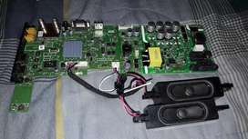 placa tv 24 pulgadas con control