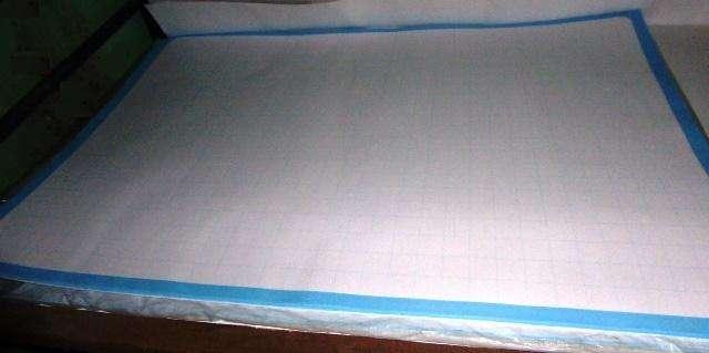 CIENTO de Papelógrafo/papelote, Cuadriculado cuadrimax y Blanco 56gr 0